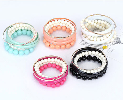 Fashion Pearl Bracelets for girls