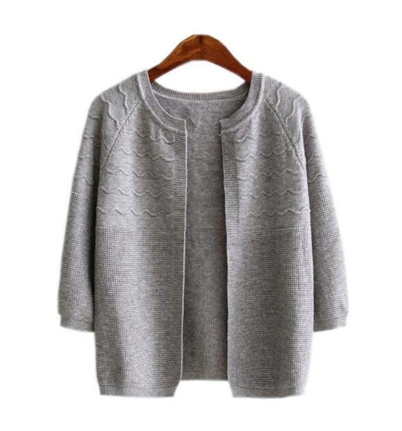 Grey Wool Women Jacket