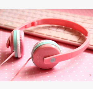 Pink Mobile Headphone