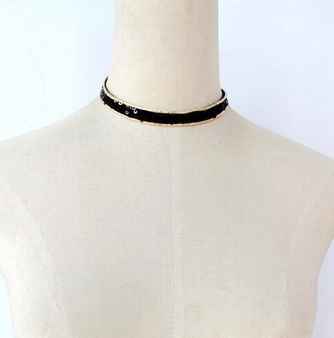 Black Style Necklaces - Crateen