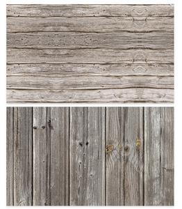 Old wooden Double Face Photography Wallpaper