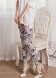 Fashion Flowers Leggings