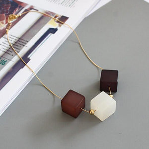 New Cubic Necklaces for women