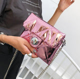 Shining Pink Women Handbags