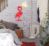 Lovely Red Flamingo Light - Crateen