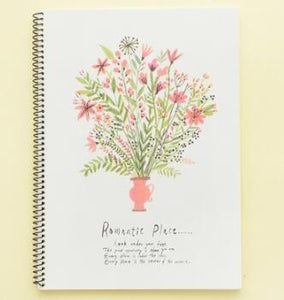 Romantic Place Notebook