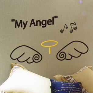 wings Wall Stickers - Crateen