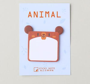 Animals Sticky Note - Crateen