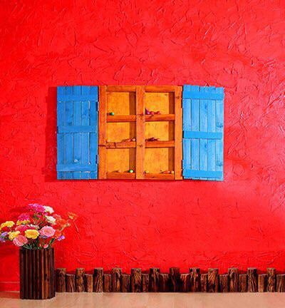 Red Wall Photography Wallpaper