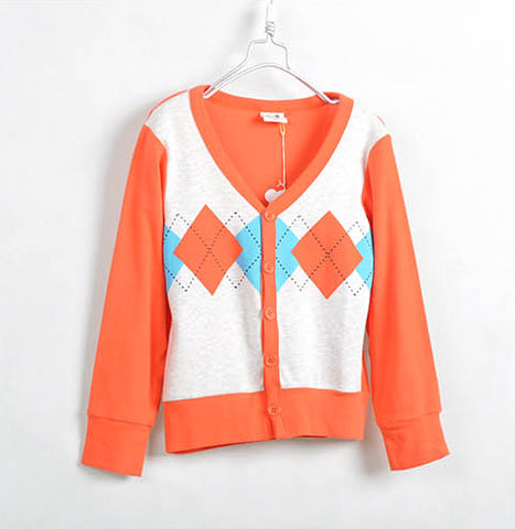 Orange Kids Jacket - Crateen