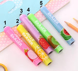 Fruits Jelly Eraser - Crateen