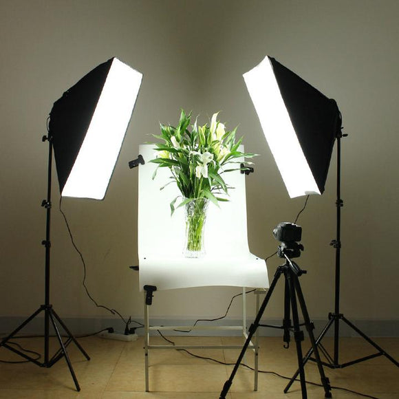 2 Lights Photography Studio ( softbox light )
