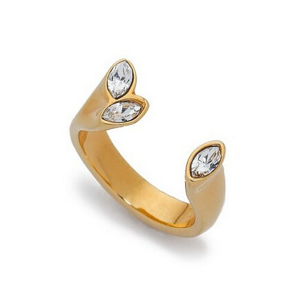 golden diamond rings for women