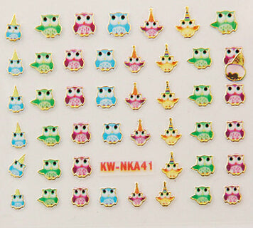 Nail Stickers Style 59