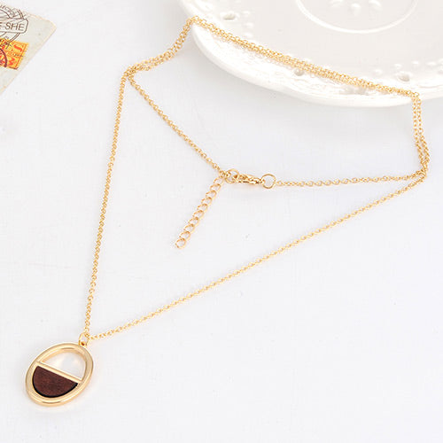 Half-round Necklaces for girls