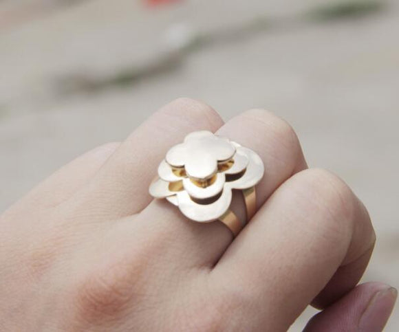 Flower style Rings for girls