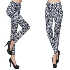 Decored Style Leggings for ladies