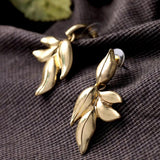 Nice Gold Earring - Crateen
