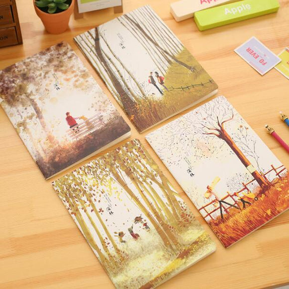 Forest Notebook - Crateen