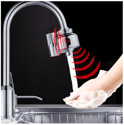 Dual Automatic Touchless Water Motion Sensor