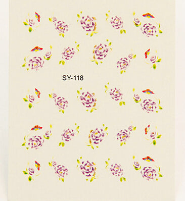 Nail Stickers Style 71 - Crateen