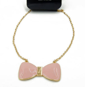 Fyonka Pink Fashion Necklaces - Crateen