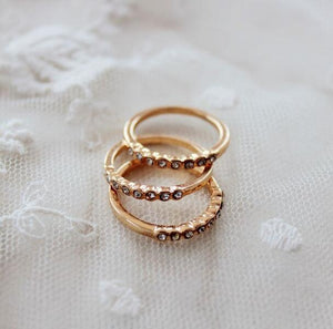 Three Styles Rings - Crateen