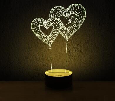 Heart Lamp - Crateen