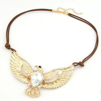 Gold Eagle Necklaces