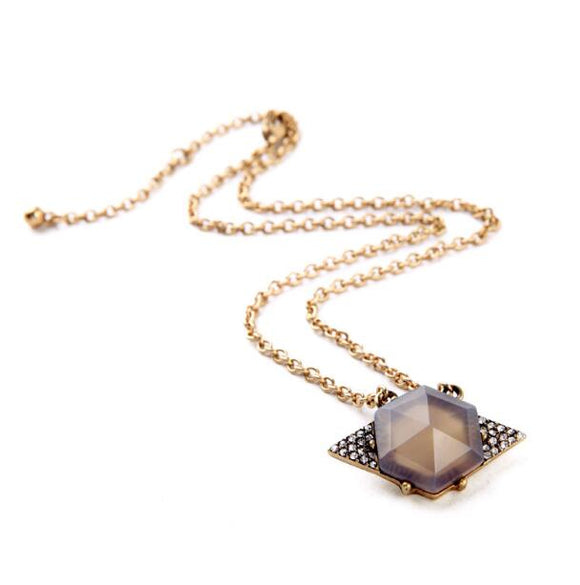 Big Crystale Necklaces - Crateen