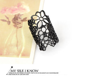Black Rose Ring - Crateen