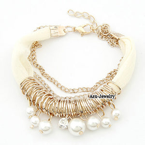 Fashion Pearl Bracele - Crateen