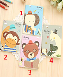 Cute Animal Small Notebook - Crateen