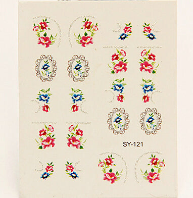 Nail Stickers Style 67 - Crateen