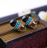 Black Fashion new Earring - Crateen