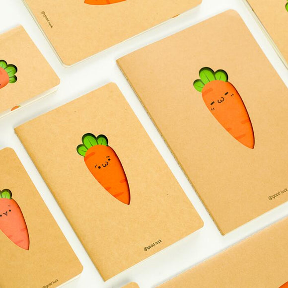 Small Carrot NoteBook