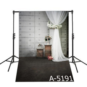 Elegant Wedding Curtains Photography Background