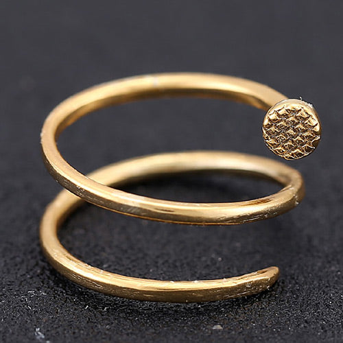 Sweet Gold Diamond Rings - Crateen