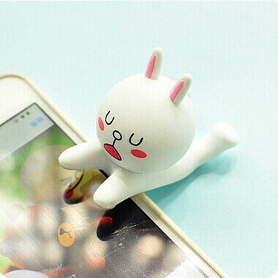 White Rabbit Phone holder - Crateen