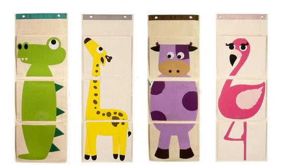 Animales Wall Pocket
