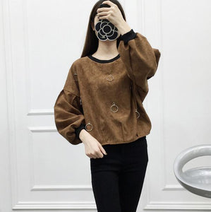 Brown Women Sweaters - Crateen