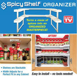 Spicy Shelf Organizer