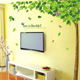 Green Tree Wall Sticker - Crateen