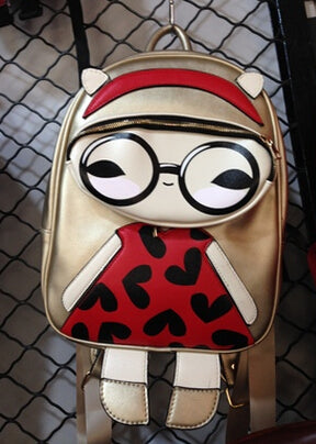 Glasses Biege School Bags