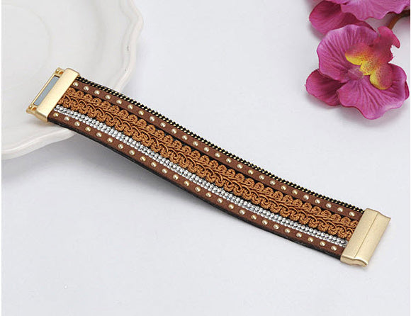 Brown Decorated Bracelets for women