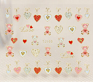 Nail Stickers Style 60 - Crateen