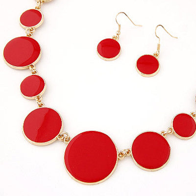 Red Gemstone Necklaces