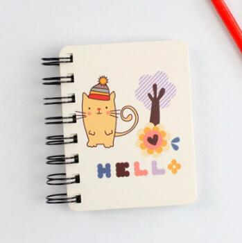 Cat  Notebook - Crateen