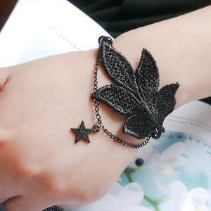 Black Star Fashion Bracelet - Crateen
