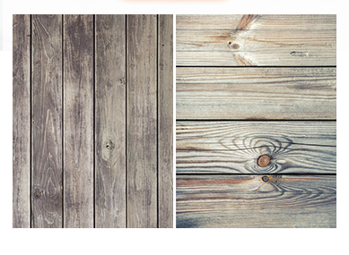 Mixed wood Double Face Photography Wallpaper